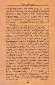 časopis Český filatelista
