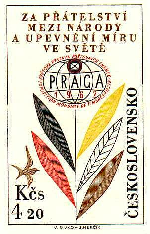 Výstava Praga 1962 – letecké (Pof. L53)