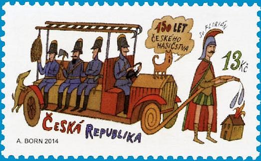 150 let českého hasičstva (Pof. č. 0801)