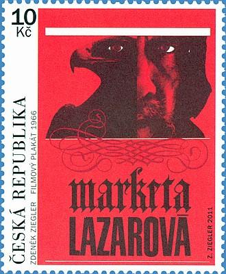 Český filmový plakát - Markéta Lazarová (Pof. 0700) vydaná 5.10.2011