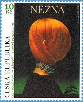 Český filmový plakát - Něžná (Pof. 0699) vydaná 5.10.2011