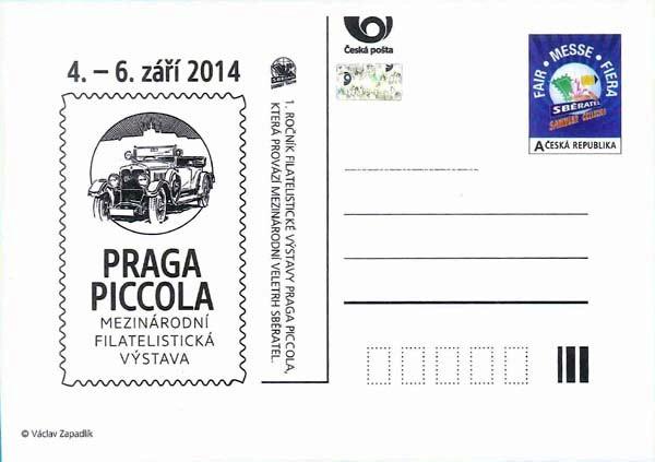 17. Veletrh Sběratel - PRAGA PICCOLA - číslo: CDV166