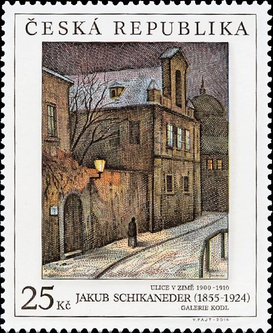 Jakub Schikaneder (1855 – 1924) - Pof. č. 0824