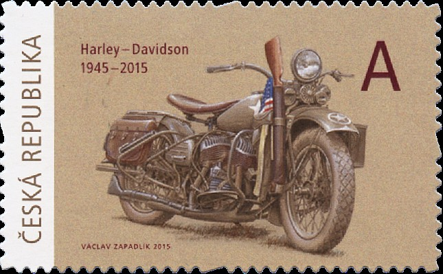 motocykl Harley-Davidson (Pof. 0835)