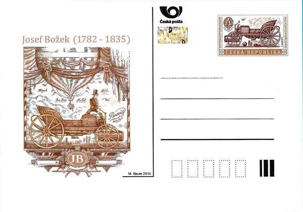 Dopisnice CDV 167 - Josef Božek