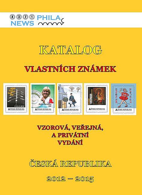 Obal katalogu Vlastních známek
