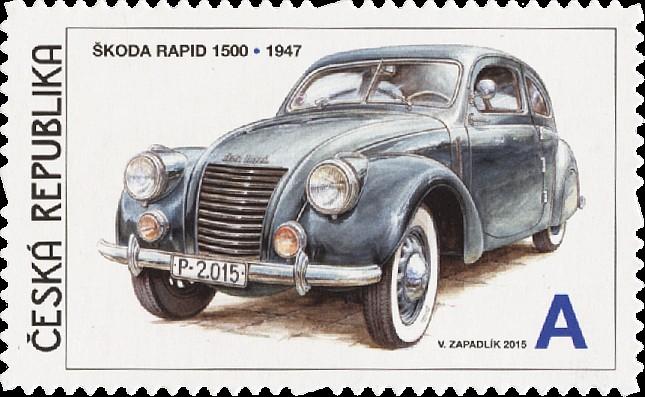 Škoda Rapid 1500 (Pof. 0858)