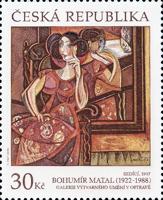 Umělecká díla na známkách: Bohumír Matal - Pof. č. 0870
