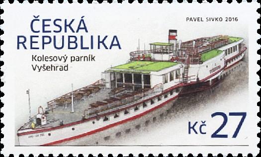 Parník Vyšehrad - Pof. č. 0877