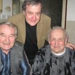 Zleva: Jaroslav Male�ek, Pravoslav Kuka�ka, Bed�ich Pol�k