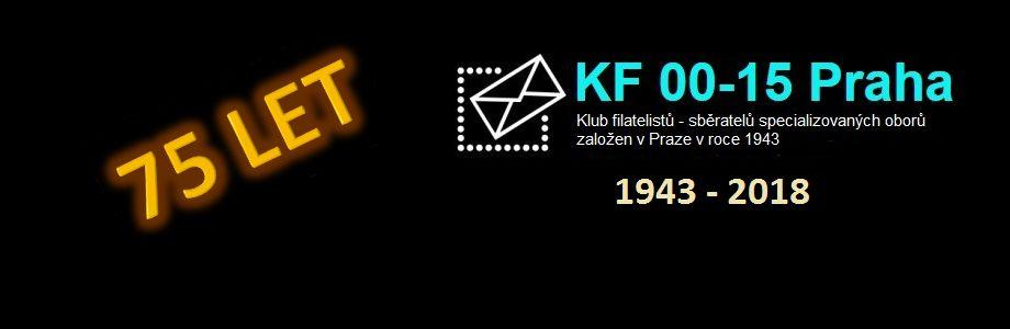 75. výročí Klubu filatelistů 00-15 Praha